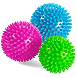 Andrew James Set of 3 Trigger Point Spiked Massage Balls For Muscle Relaxation and Reflexology - 2 Year Warranty