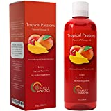 Massage Therapy Oil For Sex Erotic Massage Oils And Lubricants With Coconut Oil For Skin Sweet Almond Massage Oil With Jojoba & Vitamin E Moisturizing Body Oil With Anti-Aging Benefits For Men & Women