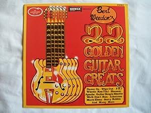 BERT WEEDON 22 Golden Guitar Greats LP
