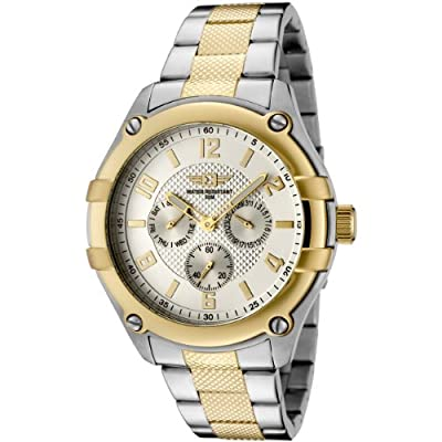 I By Invicta Men's 43659-002 Silver Dial Two-Tone Stainless Steel Watch from Invicta