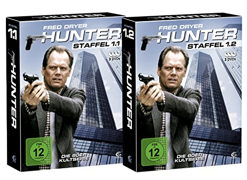 Hunter - Gnadenlose Jagd (Die komplette Staffel 1 auf 6 DVDs in 2 Digipacks mit Schuber plus Episodenguide) (exklusiv bei Amazon.de)