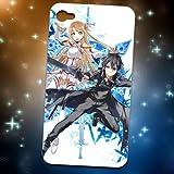 大好評、大人気♪ソードアート·オンライン Sword Art Online 血盟騎士团の闪光iPhone4 アップル/4S 専用ケース 03 コスチューム