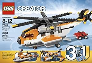 LEGO Creator 7345 Transport Chopper from LEGO Creator