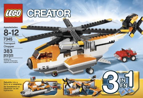 LEGO Creator 7345 Transport Chopper Amazon.com