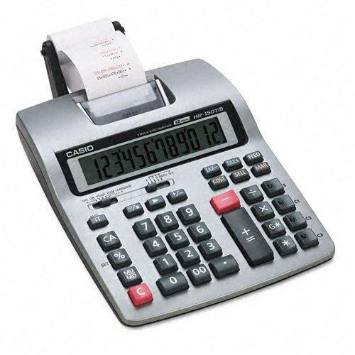 Casio® Hr-150Tm Printing Calculator Calculator,Printing,Sr (Pack Of2) front-800136