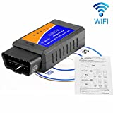Mini Wireless WIFI OBD2 code reader scanner auto - Car Diagnostic Tool Car Doctor Check Engine for Android and iPhone - iPad - IOS Windows PC