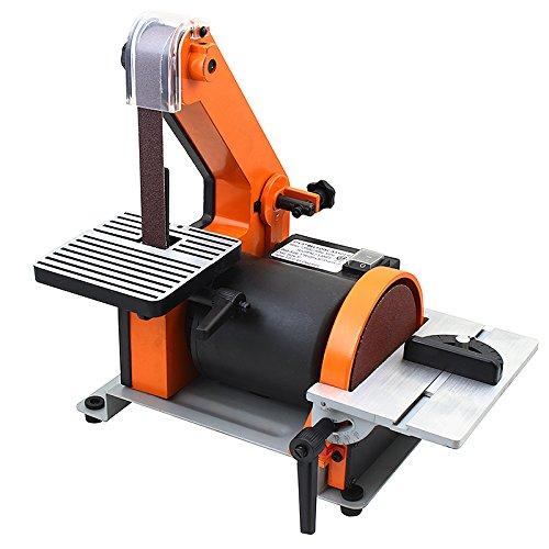 Great Features Of XtremepowerUS 1 X 30 Belt / 5 Disc Sander Polish Grinder Sanding Machine Work S...