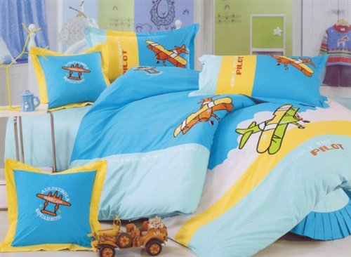 Airplane Bedding For Boys front-523515