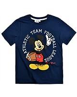 Boys Mickey Mouse T Shirt Kids Disney Short Sleeve Top New
