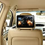 TFY Kindle Fire HD 7&quot; Car Headrest Mount, Fast-Attach Fast-Release Edition, Beige (will only fit Kindle Fire HD 7&quot;)