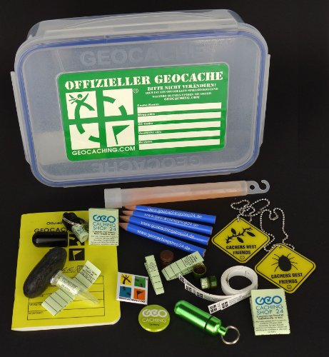 Original Offizielles Geocaching Starter Set Large Size