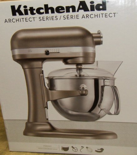 KitchenAid KP26M1XACS Stand Mixer, Architect 6 Qt. Bowl-Lift (Kitchenaid Stand Mixer Architect compare prices)