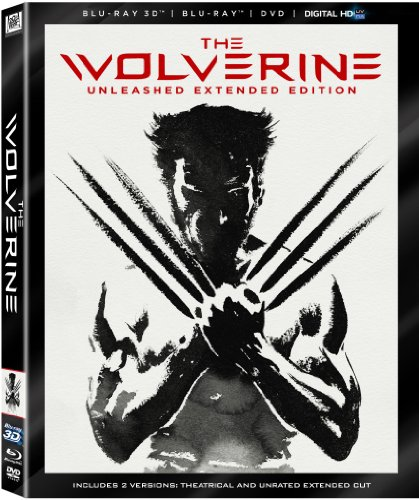 51vnDPWSA9L The Wolverine   Unleashed Extended Edition (Blu ray 3D / Blu Ray / DVD / DigitalHD + Digital Copy)