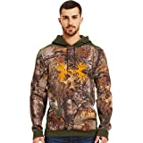 Under Armour Mens Charged Cotton® Storm Camo Antler Hoodie by Under Armour