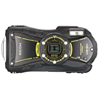 RICOH 防水デジタルカメラ RICOH WG-20 ブラック 防水10m耐ショック1.5m耐寒-10度 RICOH WG-20BK 08091