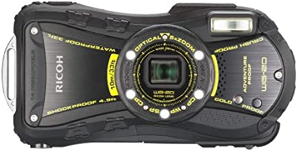 Ricoh WG-20 14MP Waterproof Shockproof Coldproof Crushproof 5x Opt Zoom Camera (black)