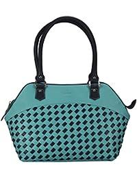 Adamis Beautiful Designed Handbag (Sea Green_B739)