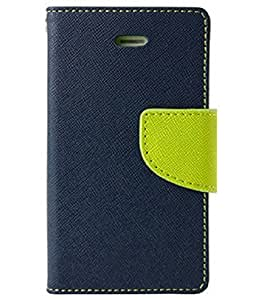 WiittyOwl Mercury Diary Wallet Style CaseFor Samsung Galaxy Note GT-i9220 (Blue)