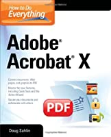 How to Do Everything Adobe Acrobat X Front Cover