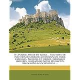 D. Antonii Ayerue De Ayora ... Tractatus De Partitionibus Bonorum Communium Inter Conjuges, Parentes, Et Liberos...