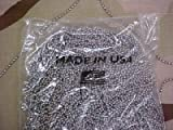 "27"" Long Silver Dog Tag Chain: Quantity of 100"
