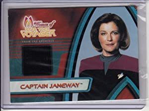 Star Trek Voyager Kate Mulgrew Costume Card F2