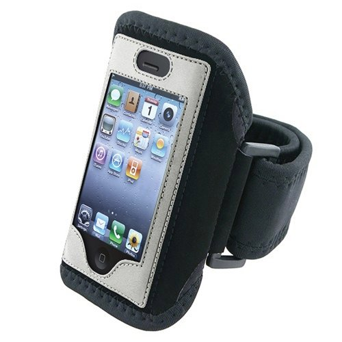 Running Jogging Armband Case Holder Compatible With iPhone® 3G 3GS 4 iPhone® 4S - AT&T, Sprint, Version 16GB 32GB 64GB