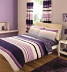 Contemporary Stripes Quilt Duvet Cove...