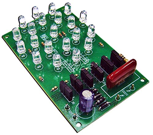 Energy Saving 21 Led Lamp / Light 2 Input Mode Power Supply 220Vac Or 12Vdc Electronic Kit Circuit Board : Fa439 (Ship With Tracking Number.)