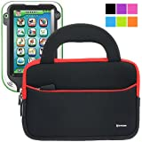 Evecase Kid-Friendly Handle Carrying Case Bag for LeapFrog LeapPad Ultra Learning Tablet - 7'' Educational Kids Tablet / Kid-tough Toys