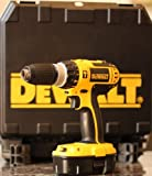 Dewalt 18V 2-Speed Combi Drill Set with Accessories (As Pictured)