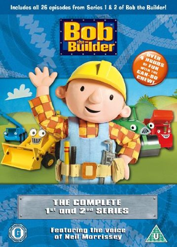 Bob The Builder - Complete Series 1 & 2 Boxset [DVD]
