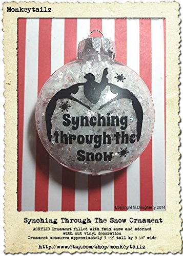 synching-through-the-snow-ornament-synchronized-swimming