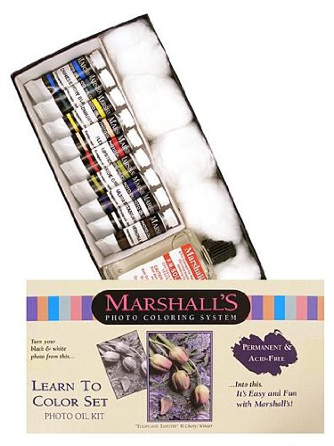 Marshall's Learn to Color Set each