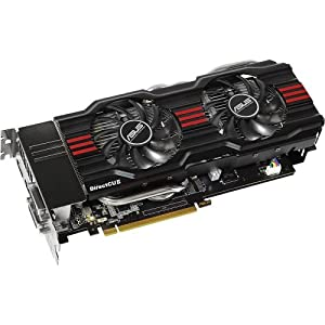 ASUS GeForce GTX 670-DC2-2GD5 VGA  - 2GB GDDR5 - GPU Tweak - PCIE 3.0 Graphics Card Graphics Cards GTX670-DC2-2GD5