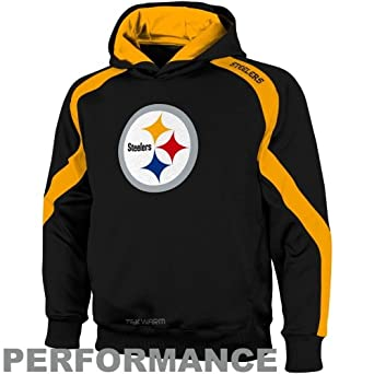 Pittsburgh Steelers Youth Gameday Hooded Sweatshirt (Small) by OuterStuff