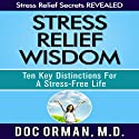 Stress Relief Wisdom: Ten Key Distinctions for a Stress-Free Life Audiobook by Doc Orman MD Narrated by Matt Stone