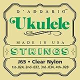 D'Addario J65 Ukulele Strings, Soprano