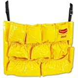 RUBBERMAID COMMERCIAL PRODUCTS Brute Caddy Bag Yellow