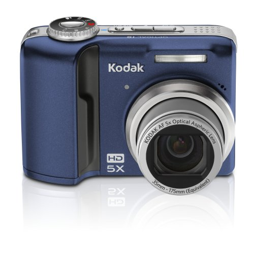 Kodak Easyshare Z1485 14Mp Digital Camera With 5X Optical Image Stabilized Zoom And 2.5 Inch Lcd (Blue)