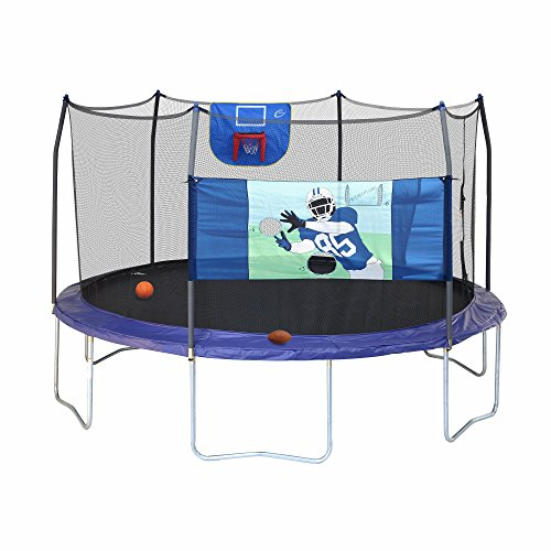 skywalker trampolines 15 round professional edition sports arena trampoline with enclosure. Black Bedroom Furniture Sets. Home Design Ideas