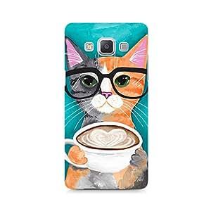 MOBICTURE Cat Premium Designer Mobile Back Case Cover For Samsung A7