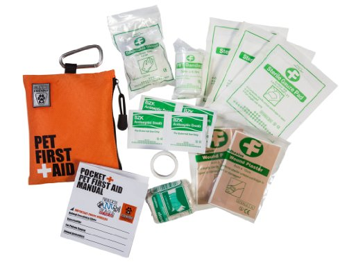 Pet First Aid Kit Emergency Travel Health Care Dog ...
