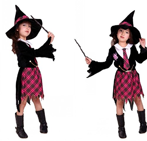 [Fancy Festival Halloween Cosplay Cloak Magic Witch Costume] (Harry Potter Fancy Dress Costumes)