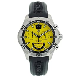 TAG Heuer Men s CAF101D FT8011 Aquaracer Grande Date Watch