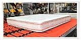 Materasso matrimoniale in memory foam 160x190 alto 25 cm ortopedico in aloe vera