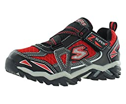 Skechers Kids 90421L Pillar 2.0 - Hawk Light-Up Sneaker  (Little Kid)