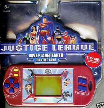 Justice League Save Planet Earth LCD Video Game