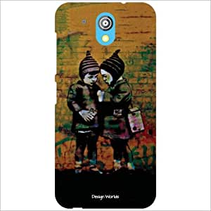 Design Worlds Back Case Cover For HTC Desire 526G Plus