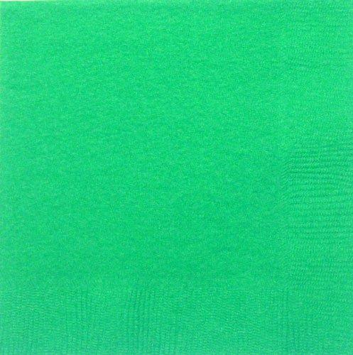 Festive Green Beverage Napkin